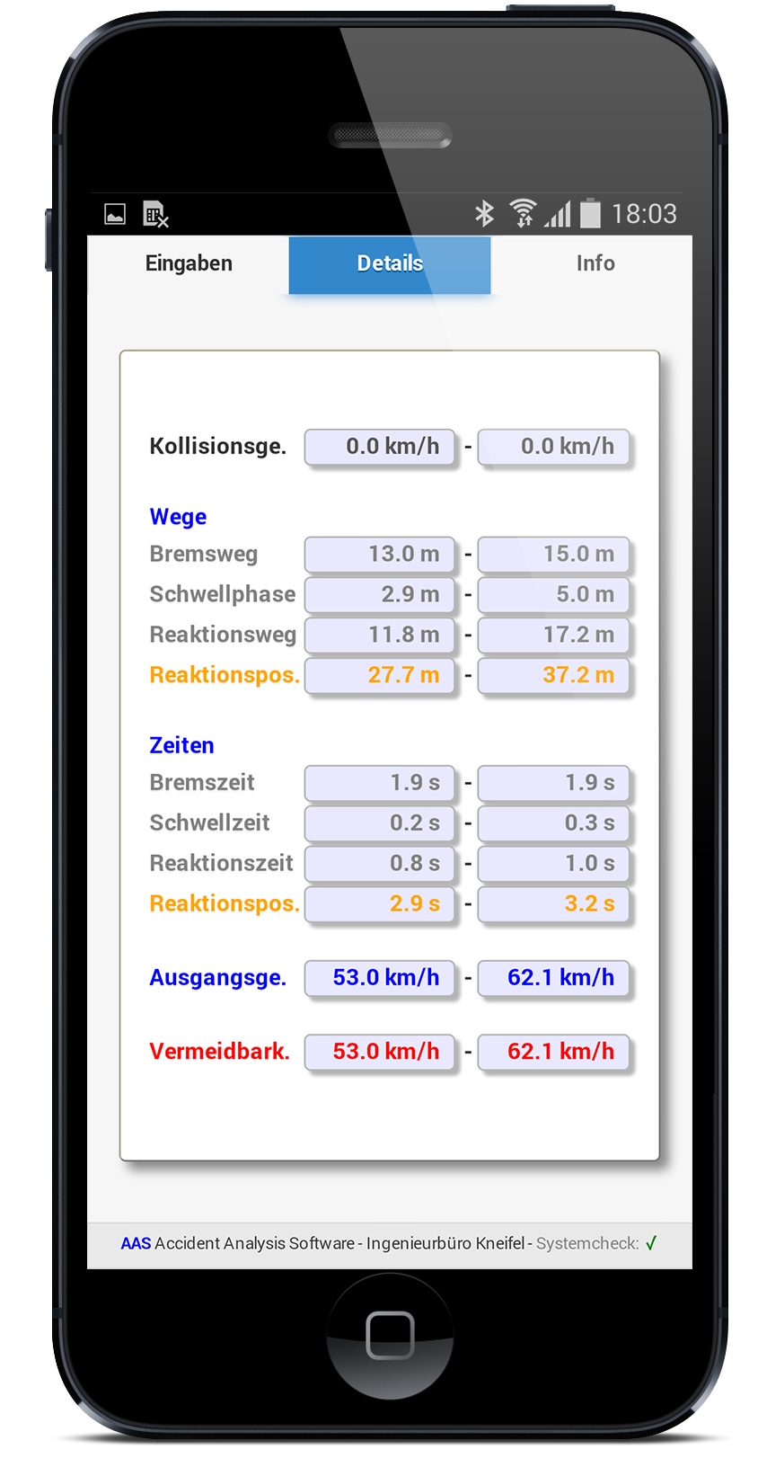 Unfallrekonstruktion - Software und Apps