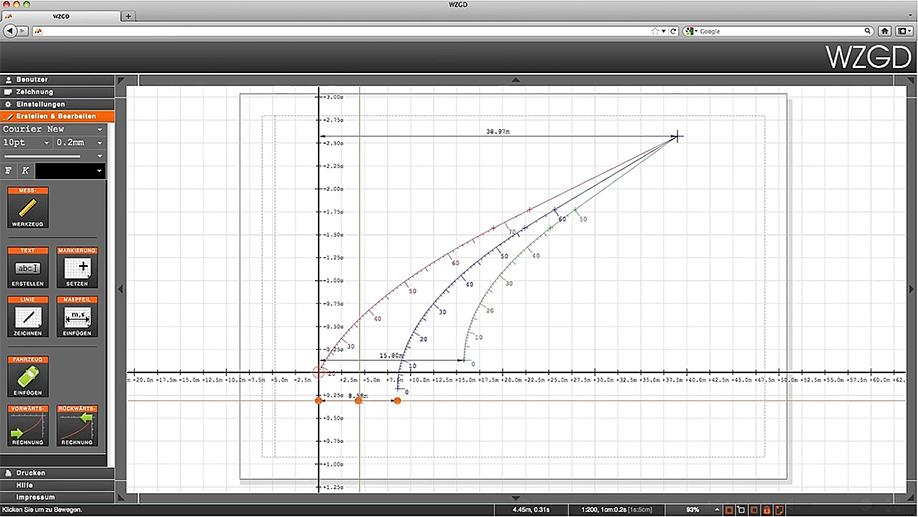 Unfallrekonstruktion - Software und Apps
